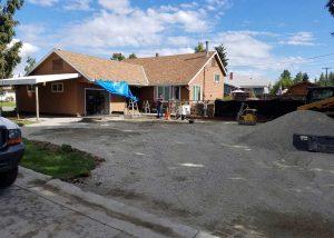 asphalt driveway preparation